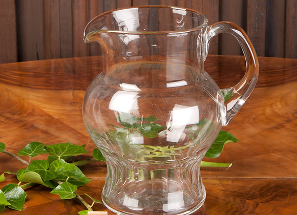 Early 20th Century Glass Water Jug