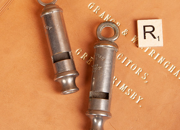 2 Early 20th Century Whistles