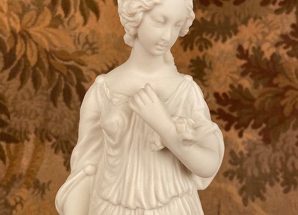 Victorian Parian Figure of a Classical Woman