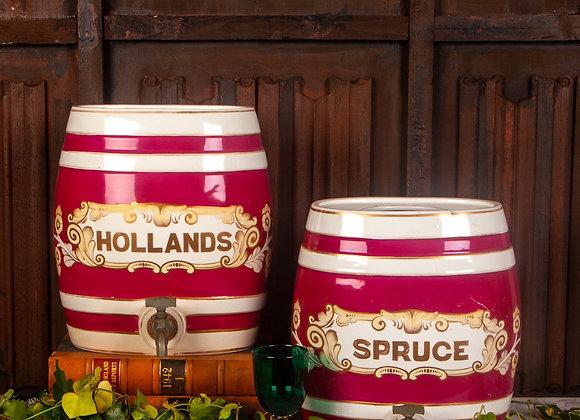 A Pair of Victorian Tavern Barrels