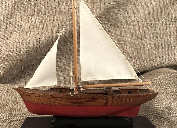 Scratch Built Model of a Yacht