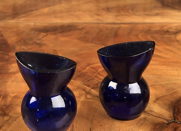 Victorian Blue Glass Eye Bath