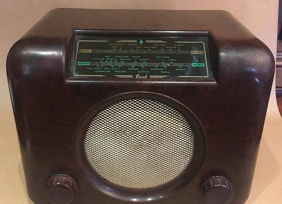 Vintage Bush Bakelite Valve Radio