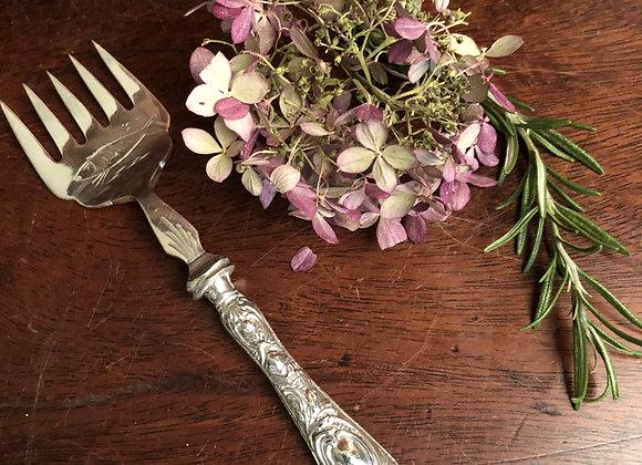 Silver Handled Sardine Fork