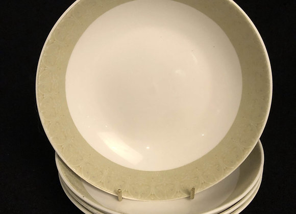 4 Royal Doulton Sonnet Soup Bowls