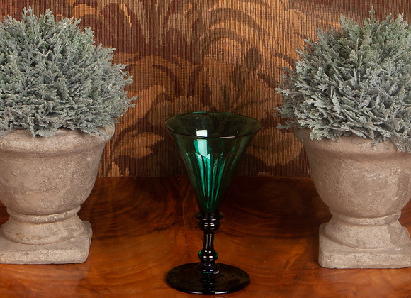 A Early Victorian Green Glass