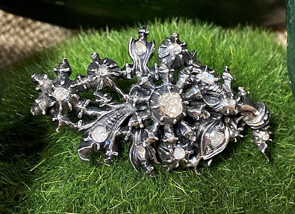 Beautiful 19th Century Diamond Brooch