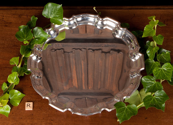 Early 20th Century Silver Plated Salver
