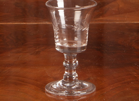 Georgian Glass with Cut Decoration