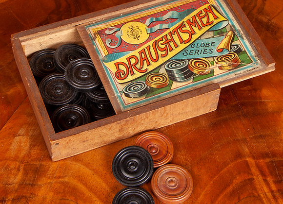 Early 19th Century Draughts set