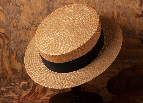 An Early 20th Century Straw Boater