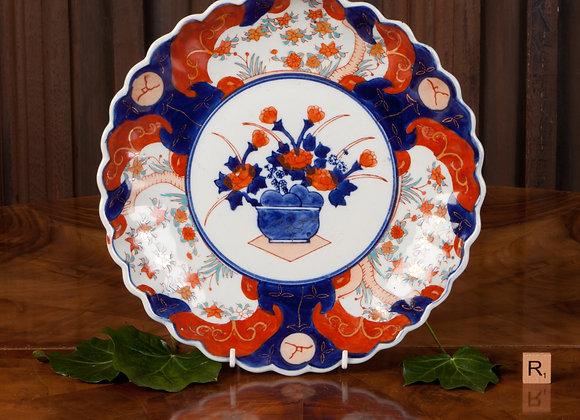 Large Early 20th Century Imari Plate