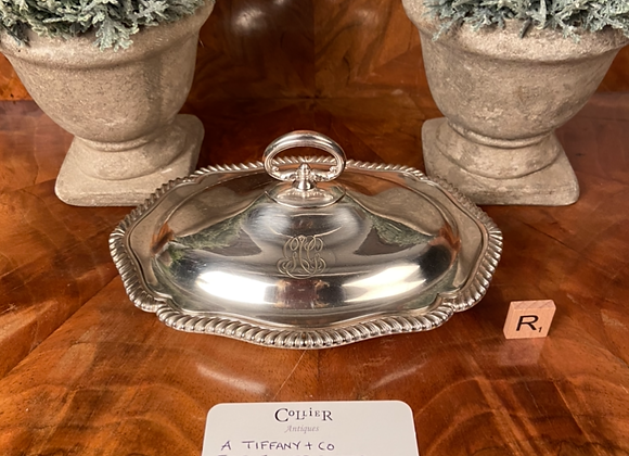 Silver Plated Tiffany Dish