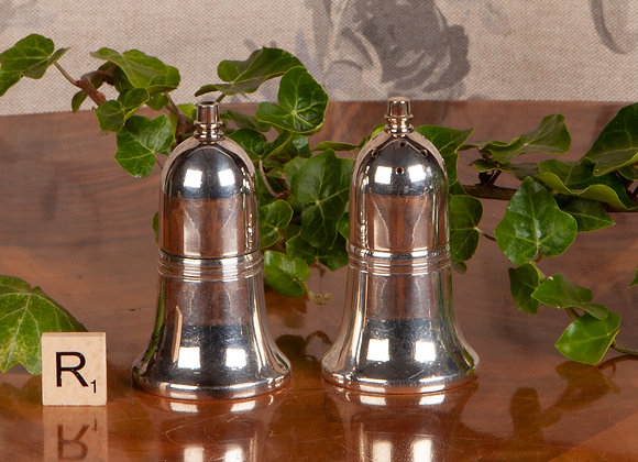 Early 20th Century Silver Plated Salt and Pepper Cruet