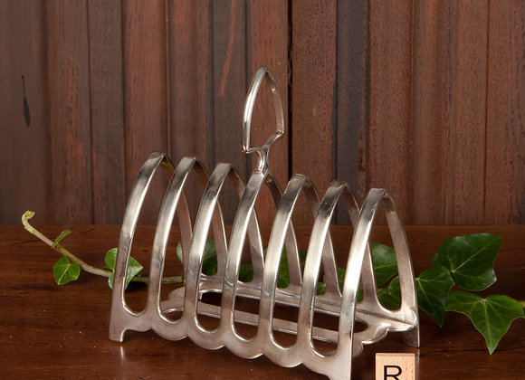 Early 20th Century Silver Plated Toast Rack