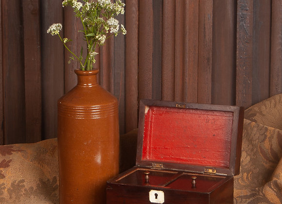 Victorian Mahogany Tea Caddy