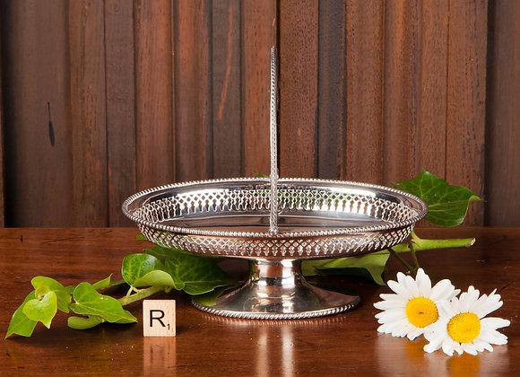 Edwardian Silver Plated Basket