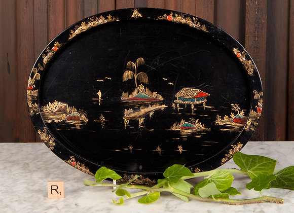 Lacquered Tray c1900