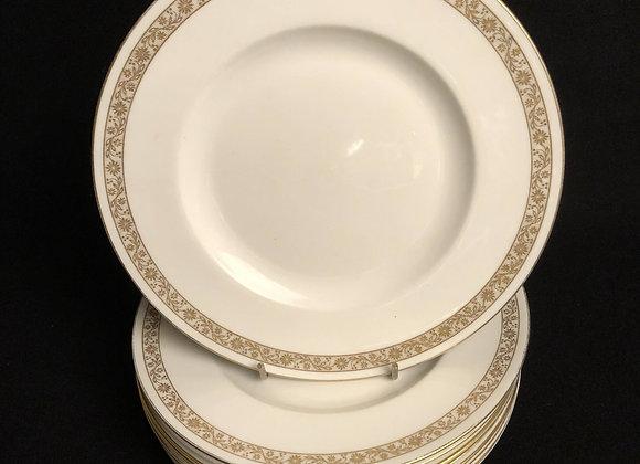 8 Royal Worcester Salad Plates