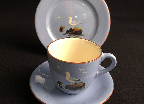 Dartmouth Pottery Seagull Trio