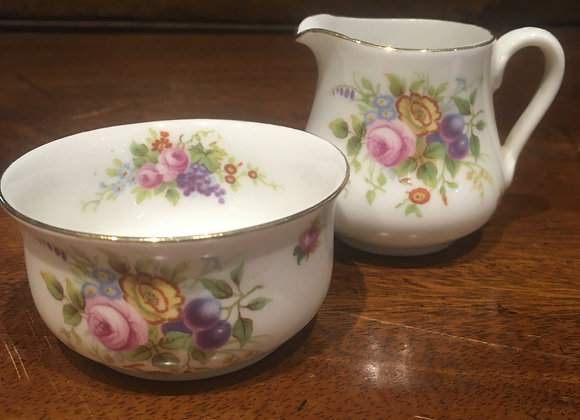 Cream Jug and Sugar Bowl