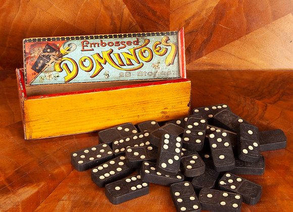 Early 20th Century Dominoes Set
