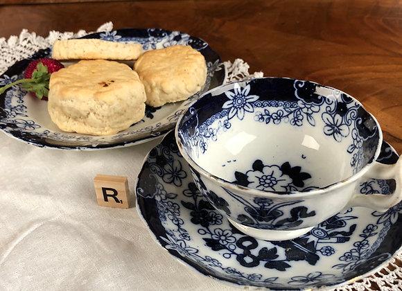 Bone China Cup, Saucer and Tea Plate