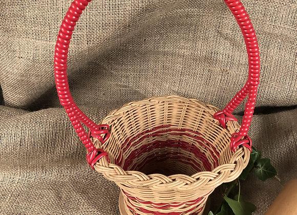 Hand Woven Wicker Basket