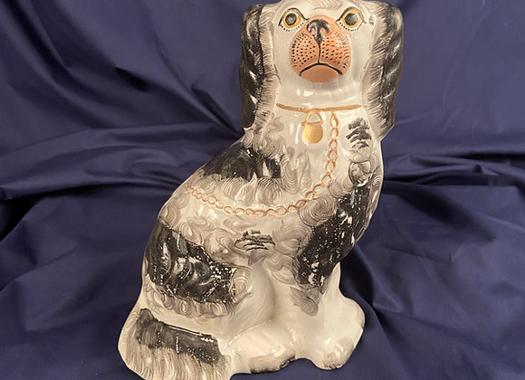 Victorian Staffordshire of a Dog