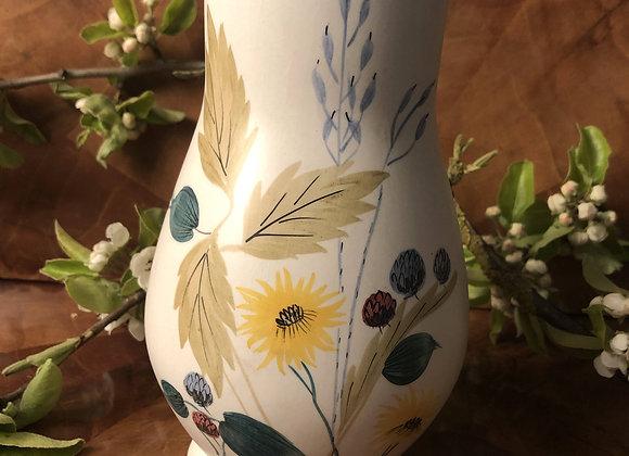 E Radford Hand Painted Pottery Vase