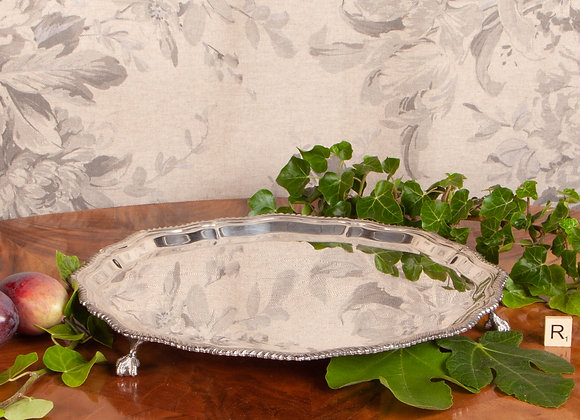 Late Victorian Silver Plated Salver /Tray
