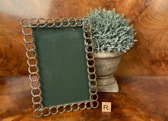 Victorian Brass Ring Photo Frame