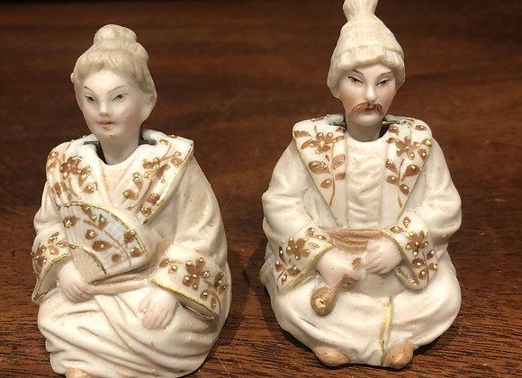 Oriental Couple - German Nodders