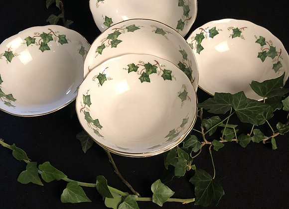 Colclough China Fruit or Soup Bowls