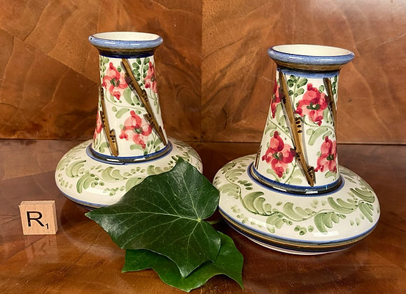 Pair of Arts and Crafts Vases
