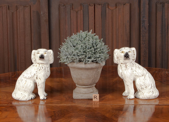 A Pair of Victorian Staffordshire Dogs