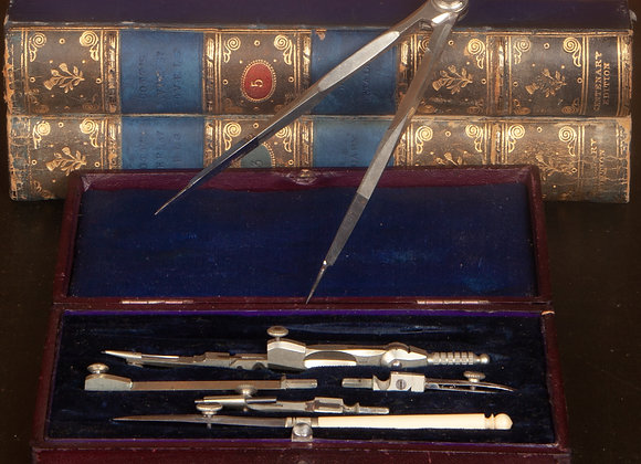 Late Victorian Draughtsmens' Set