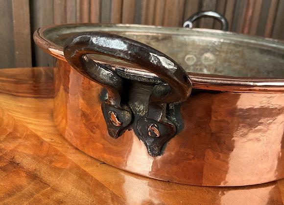 Victorian Copper Pan