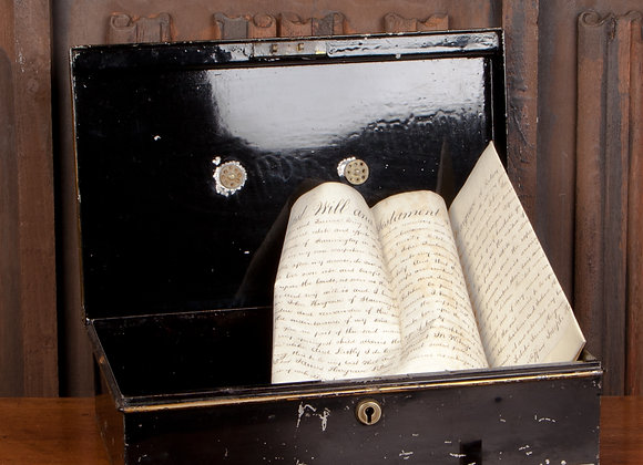 Victorian Deed Box