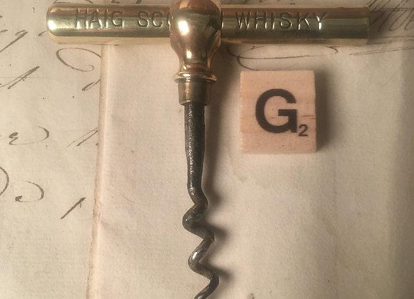 An Advertising Pocket Corkscrew