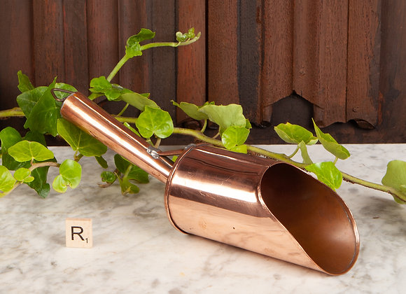 Early 20th Century Copper Scoop