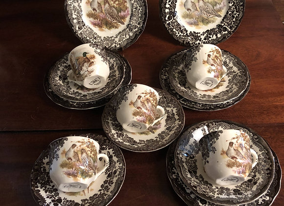 Palissy Game Series Cups and Saucers