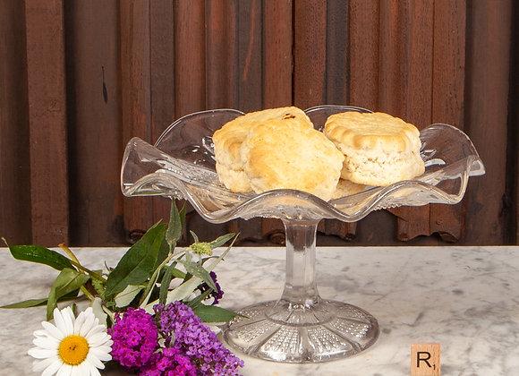 Victorian Glass Cakestand