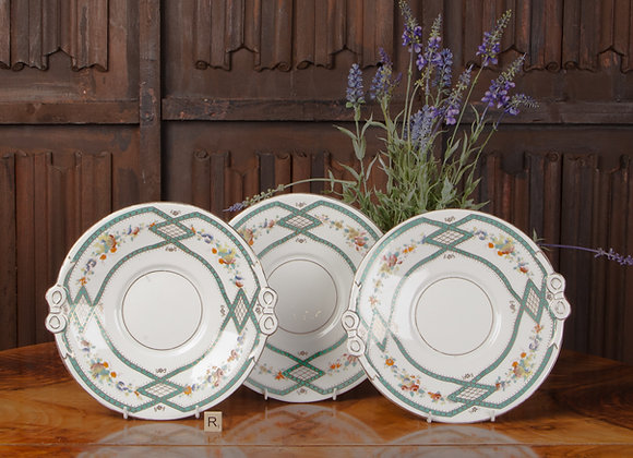 3 Late Victorian Sandwich Plates