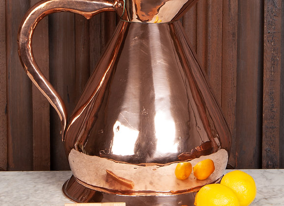 Very Large Copper Harvester Jug