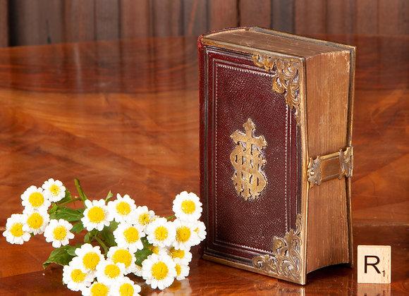 A Small Victorian Bible/Church service Book
