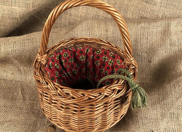 Wicker Peg Basket