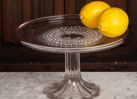 Victorian Glass Cake Stand