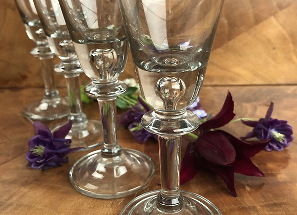 Set of Four Liqueur Glasses