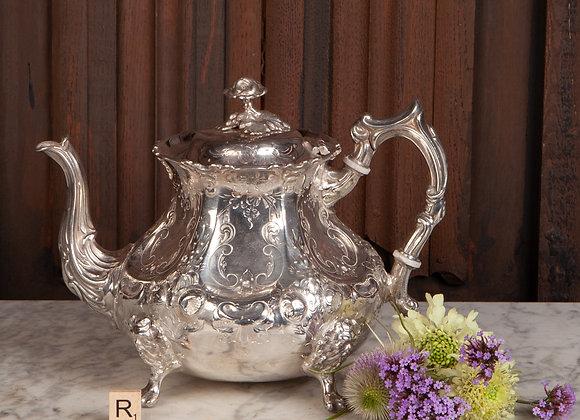 Victorian Silver Plated Tea Pot
